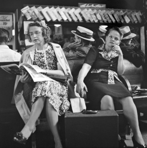 People Traveling by Bus, 1943 (25)